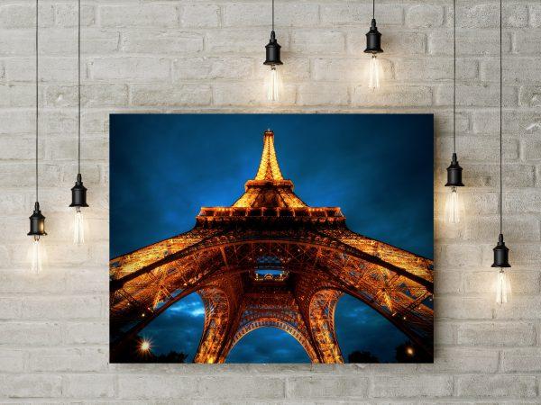 Paris Eiffel Tower At Night 1