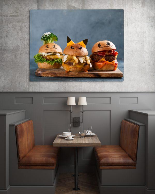 Pikachu Burger 1