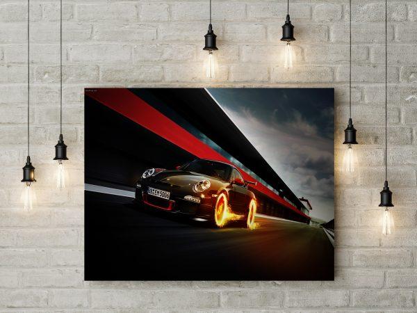 Porsche Fire Effect 1
