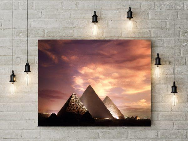 Pyramids Giza Egypt 1