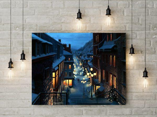 Quebec Canada Painting 1
