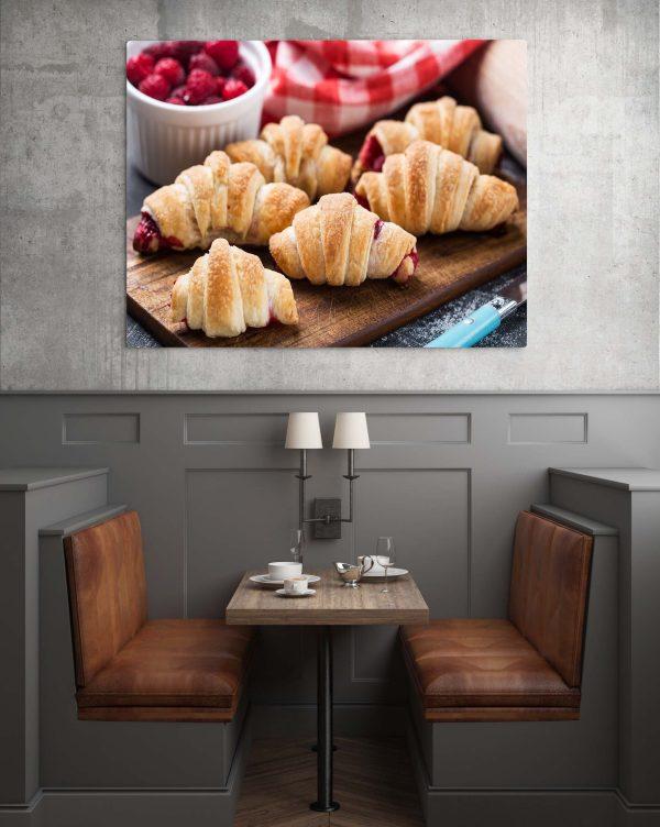 Raspberry Croissant 1
