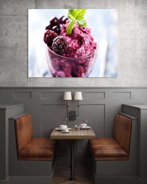 Raspberry Ice Cream 1