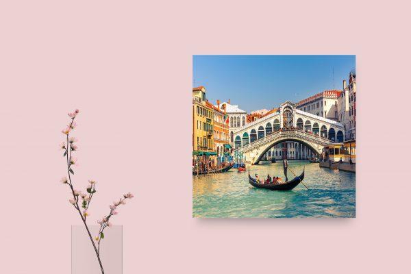 Rialto Bridge Venice Italy 1