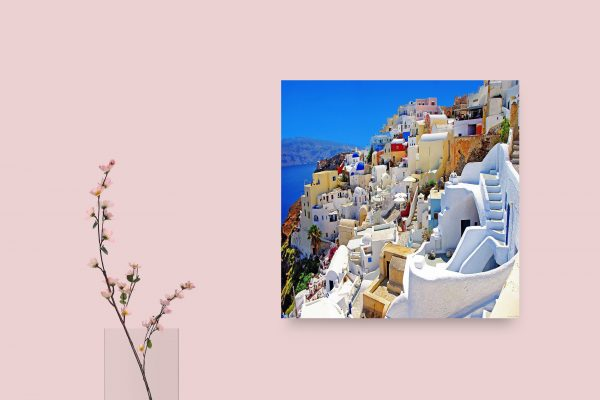 Santorini Houses In Greece 1