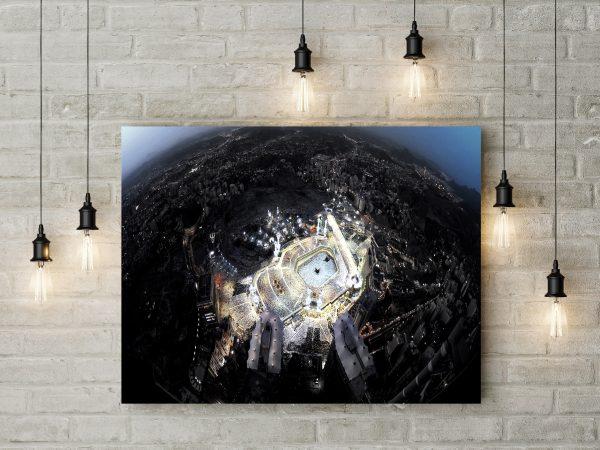 Saudi Arabia Mecca From Above 1