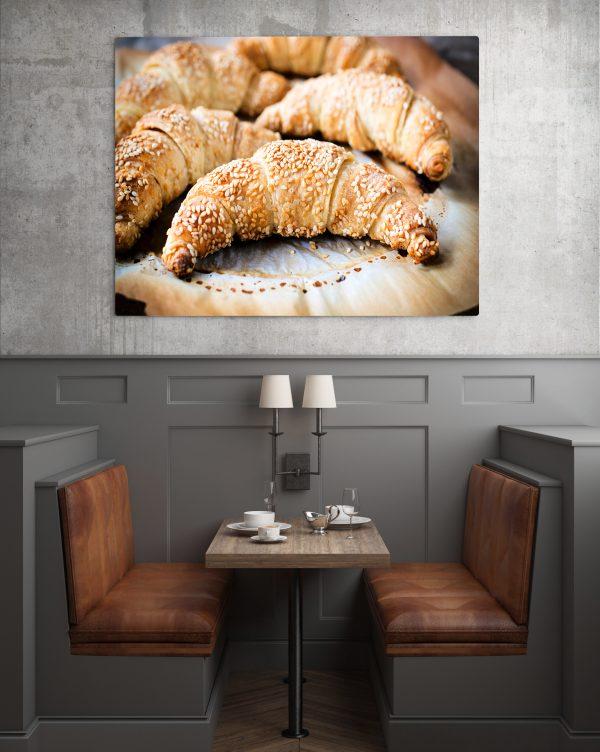 Sesame Croissant 1