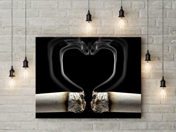 Smoke Heart 1