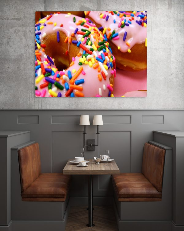 Sprinkled Doughnuts Colorful 1