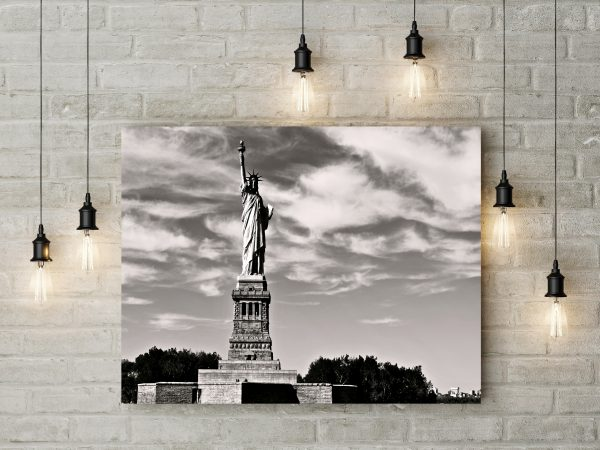 Statue Of Liberty Monochrome 1