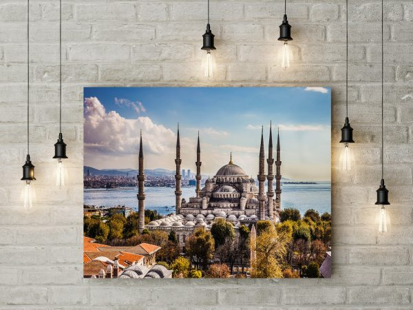 Sultan Ahmet Blue Mosque Istanbul Turkey 1