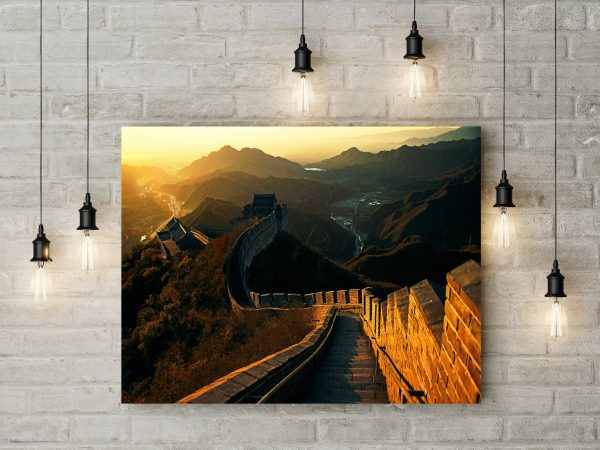Sunrise In Great Wall Of China 1