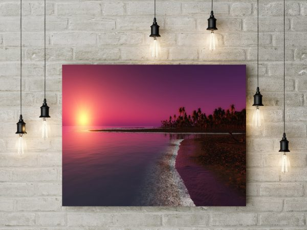 Sunset In Beach 1