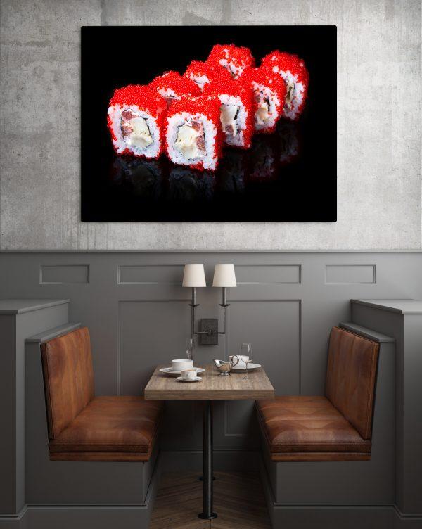 Sushi With Caviar 1