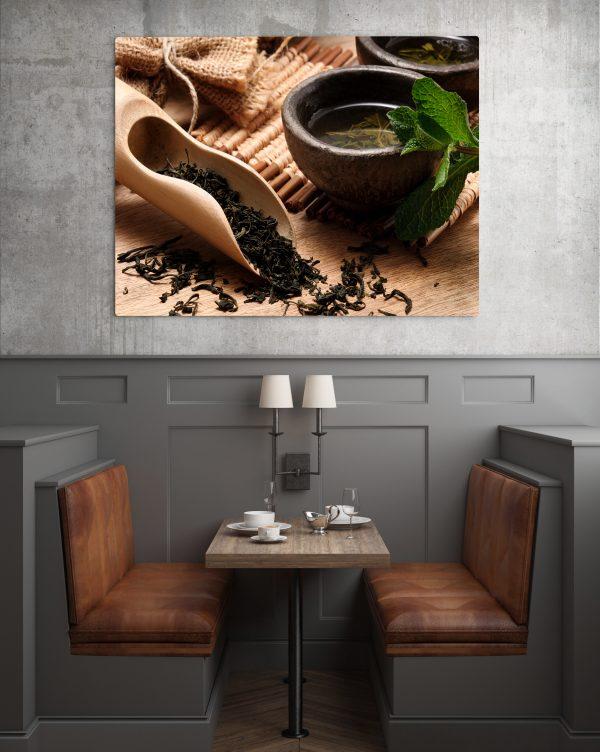 Tea Leaves And Tea Bowls 1