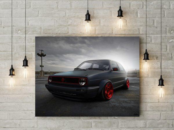 VW Gold II Black 1