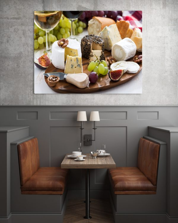 Various Cheese And Fruits 1