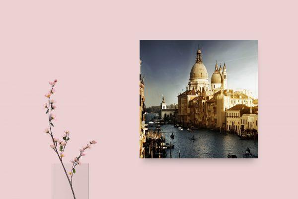 Venice Italy Canal Boats 1
