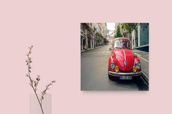 Volkswagen Beetle Red 1