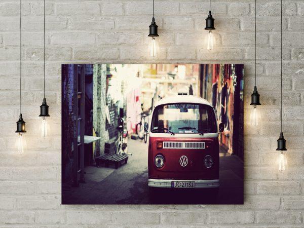 Volkswagen Van Red 1