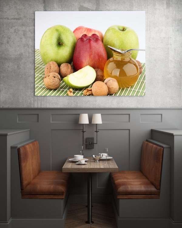 Walnuts Honey And Apples 1