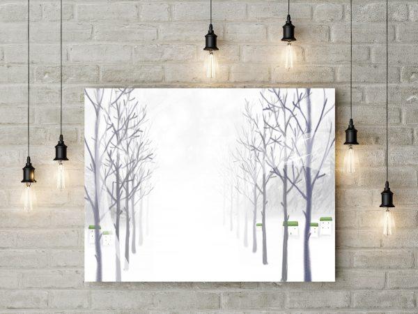 Winter Painting 1