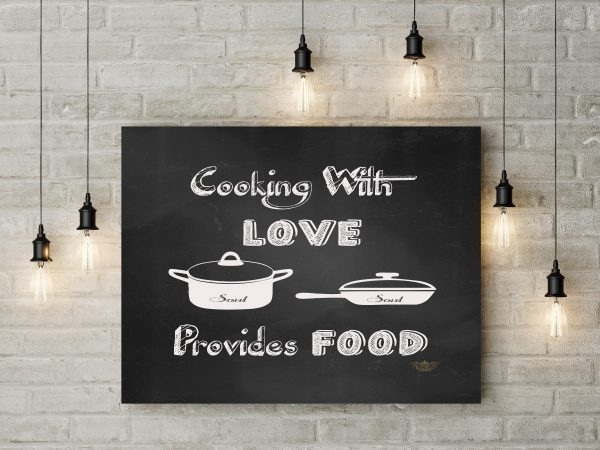 Chalkboard Cooking With Love 1