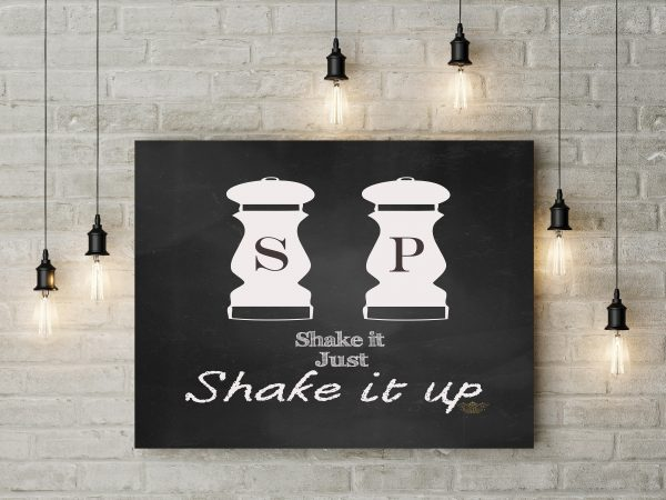 Chalkboard Shake It Up 1